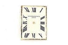 VACHERON CONSTANTIN Square Vintage Silver Watch Dial 15.8 x 20.9 mm (ZB293)