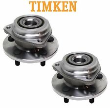 For Jeep Cherokee Pair Set of 4WD Front Wheel Bearings & Hubs Assies Timke