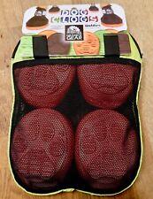 Granite Gear Orange XL Dog Winter Hiking Walking Clogs Shoes Booties Velcro