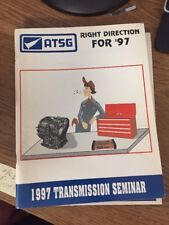 ATSG 1997 transmisison seminar tech book automatic transmission manual Domestic