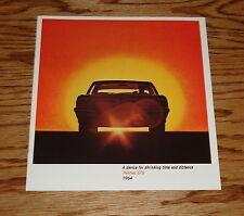 1964 Pontiac GTO Sales Brochure 64