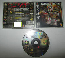 Twisted Metal slim box - Sony Playstation PS1 PSX NTSC U/C