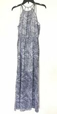 H&M Womens Size 4 Strappy Splits On The Sides Long Maxi Dress New With Tags