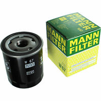 Original MANN-FILTER Ölfilter Oelfilter W 67 Oil Filter