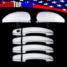 For Chevy CRUZE 2011 2012 2013 2014 Chrome Covers Set Mirrors+4 Door Handles w/o