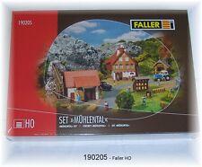 Faller HO 190205 Set Mühlental Sonderset Idee+Spiel #NEU in OVP#