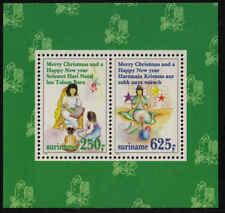 Surinam / Suriname 1994 Kerstmis christmas weihnachten noel S/S MNH