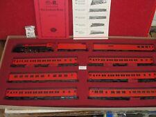 SALE : Vintage Con-Cor Rivarossi CARDINAL NYC TRAIN SET HO Scale Ltd Ed #0001