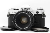 【Almost MINT】Canon AE-1 SLR Film Camera + FD 50mm f/1.8 S.C. Lens From JAPAN
