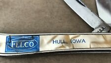 Pocket Knife...Felco Feeds...Hull, Iowa/IA