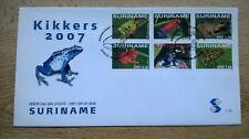 Suriname Republiek 2007 FDC E309 Kikkers