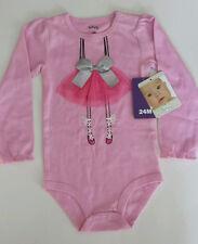 NWT PEKKLE BABY ROMPER BALLERINA BODYSUIT Cotton Tutu Toddler Girls 24 months 2T