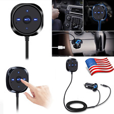 Wireless Bluetooth 4.0 Music Receiver 3.5mm Adapter Handsfree Car AUX Speaker US