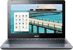 "Acer C720-2844 11.6"" Intel Celeron 2955U Dual-Core 4GB 16GB SSD Chromebook"