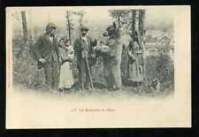 Les Bohémiens et l'Ours (montreur d'ours) , Environs de Coulommiers