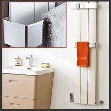"""Chrome Towel Bars for """"Thor"""" Aluminium Designer Radiator range"""