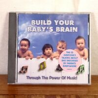 Build Your Baby's Brain Through the Power of Music! CD album Sony Classical