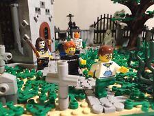 LEGO GRAVEYARD CEMETERY LIKE 10182 4766 70420 10255 STRANGER THING HIDDEN SIDE