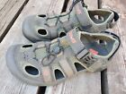 Teva Sport Hiking Sandal Trail Water Shoe Shoc Pad Size mens 7 spider rubber!!