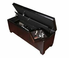 Wooden Rifle Gun Cabinets & Safes | eBay