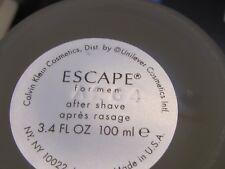 Ecape  By Calvin Klein Men 3.4 oz After Shave Lotion Splash UN BOX