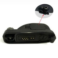 Motorola DP3400, DP3600, DP4400, DP4600, DP4800 accessory adaptor to 2 pin plug
