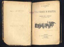 E.Caramelli Una baracca di burattini - T.Catani - Al Paese Verde Bemporad R