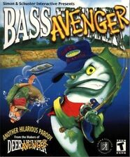 Bass Avenger PC new CD fishing game from deer avanger creator