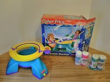 Vintage FISHER PRICE BIG BUBBLE MACHINE 1995 BATTERY OPERATED TESTED