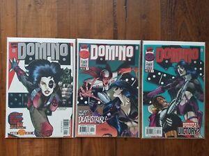 MARVEL COMICS: DOMINO #1-3 (1997)