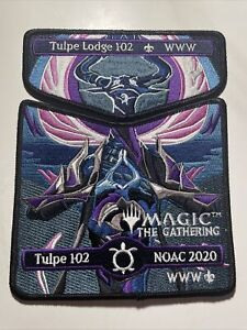 Tulpe Lodge 102 2020 NOAC Complete Magic the Gathering Patch Set *WITH DELEGATE*