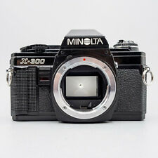 Minolta X-300 35mm Camera Body - Thoroughly Tested/100% - New Seals - Excellent