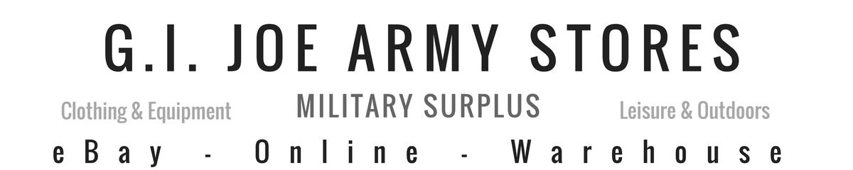 G I Joe Army Stores