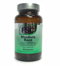 FSC Standardised Rhodiola Root Extract 500mg - 90 Capsules Vegan
