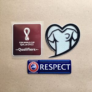 FIFA WORLD CUP Qatar QUALIFIERS 2022 Sleeve Patch Badge Set