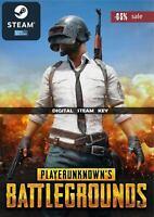 PlayerUnknown's Battlegrounds - Steam CD-Key Region Free (PC & MAC)