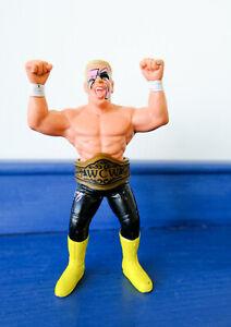 WCW Galoob Sting Figure & Belt. Black Pants Wrestler WWF WWE
