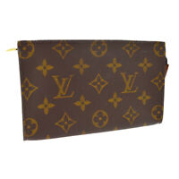 LOUIS VUITTON BUCKET PM PURSE ATTACHED POUCH PURSE MONOGRAM SD0030 A53314
