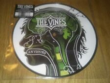 """The Vines Anysound / Going Gone 7"""" Vinyl Single Picture Disc HVN160X EX-EX"""