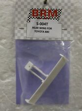 Brm S-004T Toyota 88C Rear Wing - Unpainted New 1/32 Slot Car Part