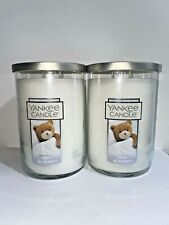 ☆☆SOFT BLANKET ☆☆SET OF 2 LARGE YANKEE CANDLE 2 WICK TUMBLER☆☆FREE SHIPPING