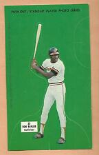 DON BAYLOR ORIOLES BASEBALL CARD 1973 JOHNNY PRO STAND UP PLAYER PHOTO PUSH OUT