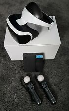 Playstation VR Headset With Camera & Move Controllers