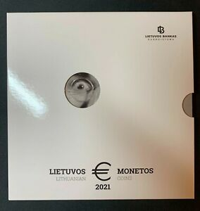 2021 Lithuania LB --FLUXUS--   €  Coin set