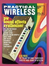 PRACTICAL WIRELESS - Magazine - MARCH 1971 - PW Sound Effects Synthesiser