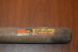 """VINTAGE BABE RUTH DECAL BAT!!! 31"""" LONG!!! MUST SEE!!!"""