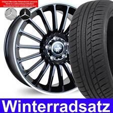 """4x 18"""" Winterräder KT15 BLP 225/40 Winterreifen für Mercedes CLA Shooting Brake"""