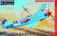 Kovozavody Prostejov 1/72 Model Kit 7235 Lavochkin La-5FN Aces