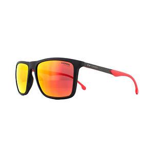 Carrera Sunglasses 8032/S 003 W3 Matte Black Red Mirror