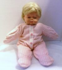 VINTAGE HORSMAN BABY DOLL 1961 NEWBORN EXPRESSION CLOTH BODY, VINYL HEAD, 18""
